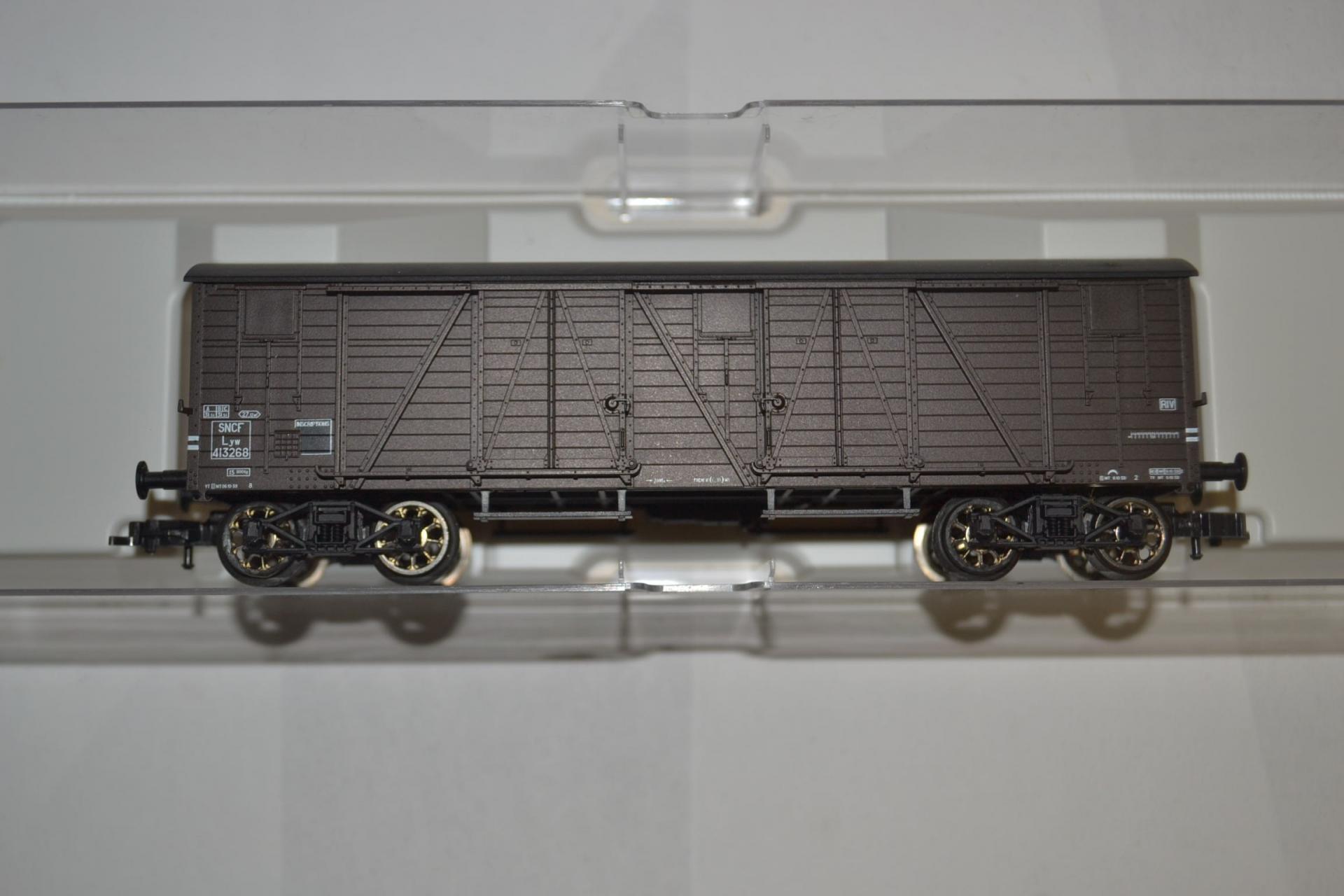 Wagon couvert tp