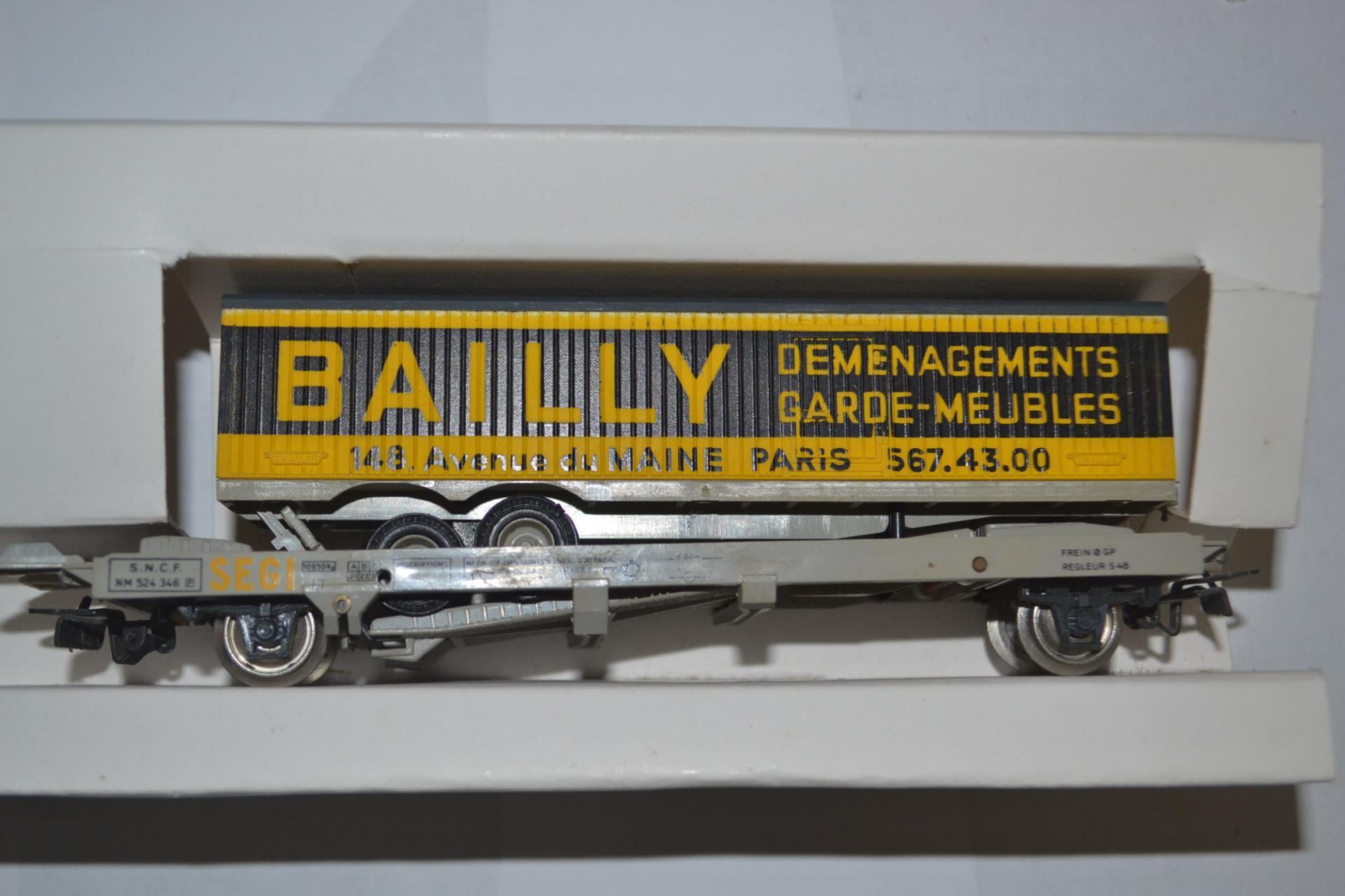 Wagon kangourou bailly
