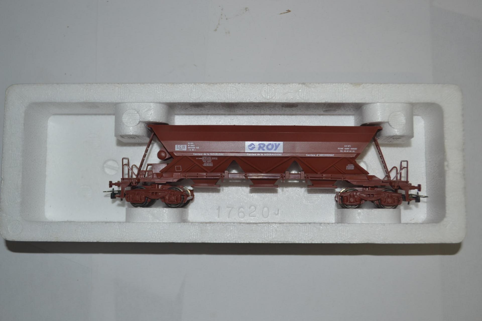 Wagon tremie roy 2